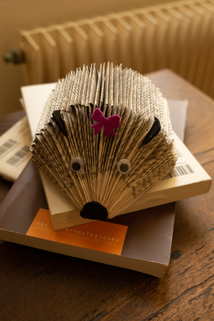 paper hedgehog